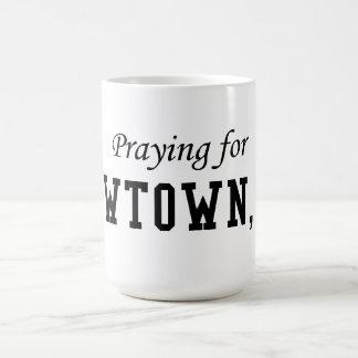 Praying For Newtown CT Coffee Mug