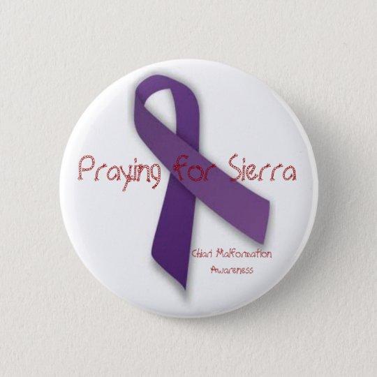 Praying for Sierra Pinback Button
