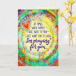 """Praying for you"" Inspirivity Card"