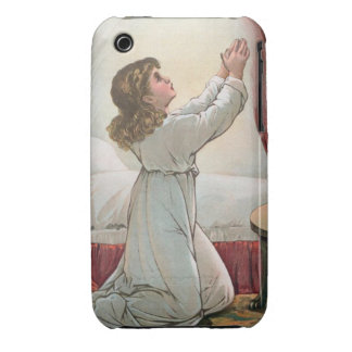 Praying Girl iPhone 3G/3GS Case-Mate Barely There™ iPhone 3 Cover