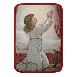 "Praying Girl MacBook Air 13"" Sleeve"