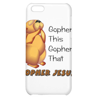 Praying gopher Christian design iPhone 5C Cases