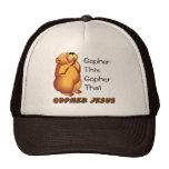 Praying gopher Christian design Trucker Hat