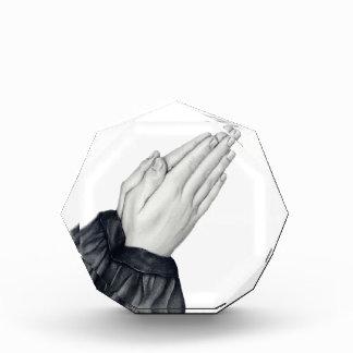Praying Hands Acrylic Awards