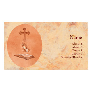 Praying Hands Business Card Templates