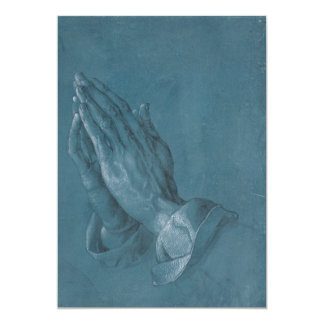 Praying Hands by Albrecht Durer Personalized Announcements