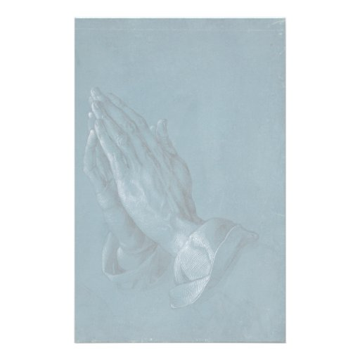 Praying Hands by Albrecht Durer Customized Stationery