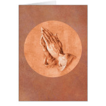Praying Hands Card