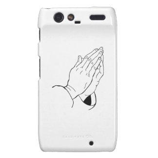 PRAYING HANDS MOTOROLA DROID RAZR COVERS