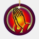 PRAYING HANDS ORNAMENT