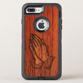 Praying Hands OtterBox Defender iPhone 8 Plus/7 Plus Case