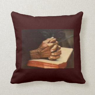 Praying Hands Pillow