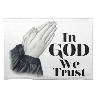 Praying Hands Placemat