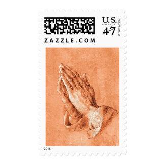 Praying Hands Postage