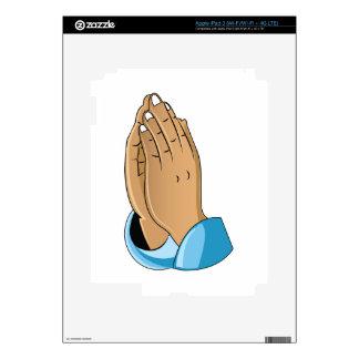 Praying Hands Skins For iPad 3