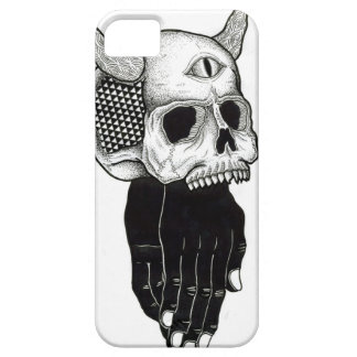 praying hands skull iPhone SE/5/5s case