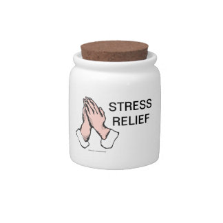 Praying Hands Stress Relief Cookie & Candy Jar