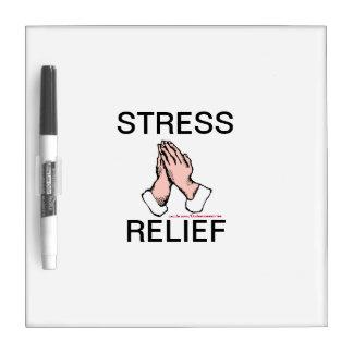 Praying Hands Stress Relief Writing Erase Board