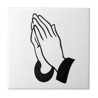 Praying Hands Tile