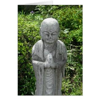Praying Jizo-NY Card