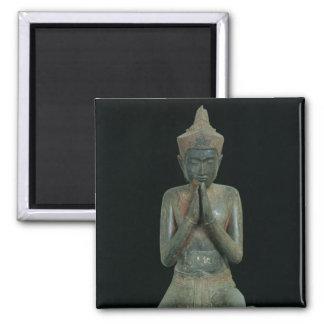 Praying kneeling figure magnets