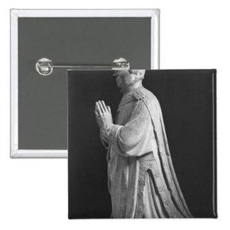 Praying kneeling figure of Duc Jean de Berry Buttons