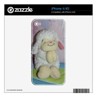 Praying Lamb I Phone 4/4  S    Skin iPhone 4 Decals
