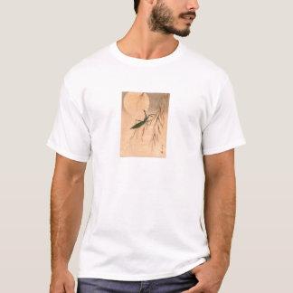 Praying Mantis and the Moon Japanese Art c. 1800s T-Shirt