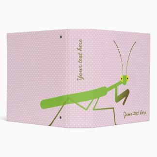 Praying mantis binder