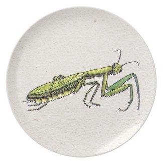 Praying Mantis Dinner Plates