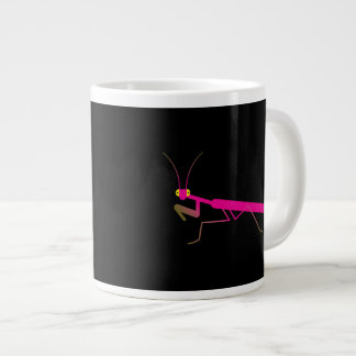Praying mantis giant coffee mug