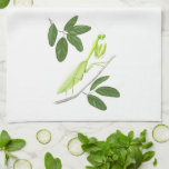 Praying Mantis Kitchen Towel