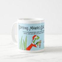 Praying Mantis plays Santa Coffee Mug