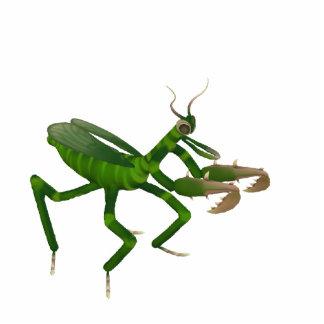 Praying Mantis Sculpture Photo Cut Out
