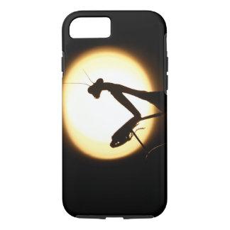 Praying Mantis Silhouette iPhone 7 Case