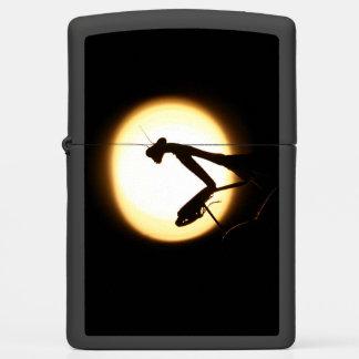 Praying Mantis Silhouette Zippo Lighter