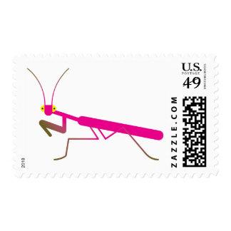 Praying mantis stamp