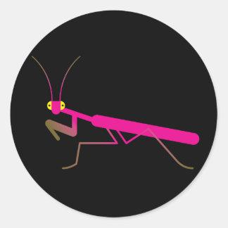 Praying mantis stickers