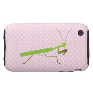 Praying mantis tough iPhone 3 case