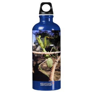 Praying Mantizoid Water Bottle
