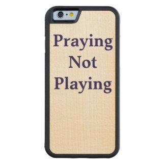 Praying not playing phone case