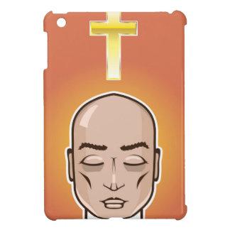 Praying person Gold cross Meditation iPad Mini Covers
