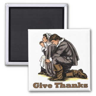 Praying Pilgrims Magnet