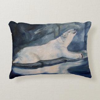 Praying Polar Bear Accent Pillow