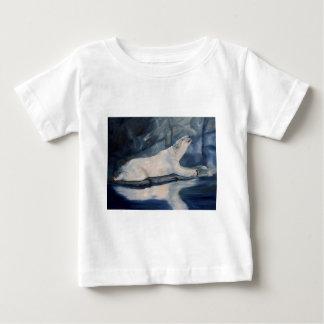 Praying Polar Bear Baby T-Shirt