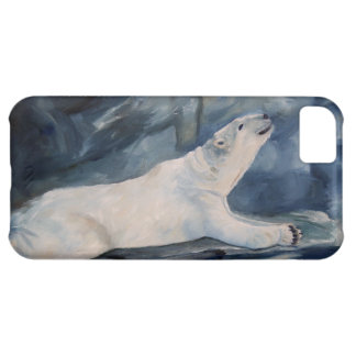 Praying Polar Bear iphone 5 barely there qpc iPhone 5C Cover