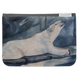 Praying Polar Bear Kindle Case