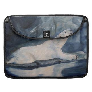 Praying Polar Bear Sleeve For MacBook Pro