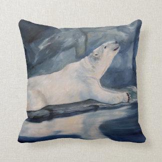 Praying Polar Bear Pillows
