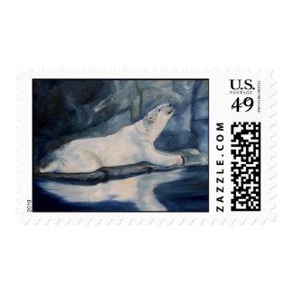 Praying Polar Bear Stamps